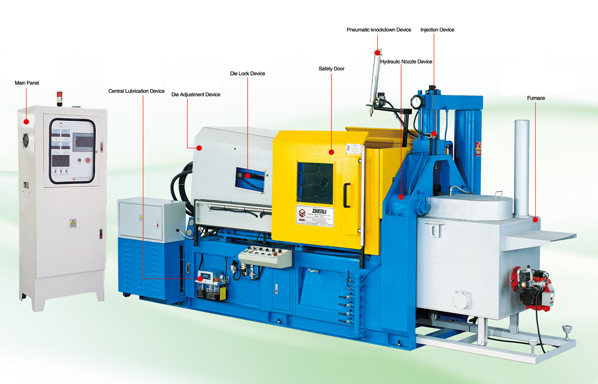 Precision Hot Chamber Machine